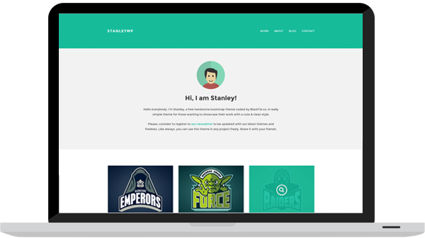StanleyWP - Bootstrap WordPress Theme