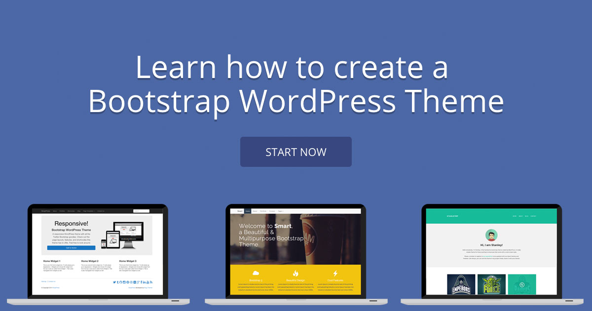 Course Outline of Bootstrap WordPress Tutorials - BootstrapWP.com